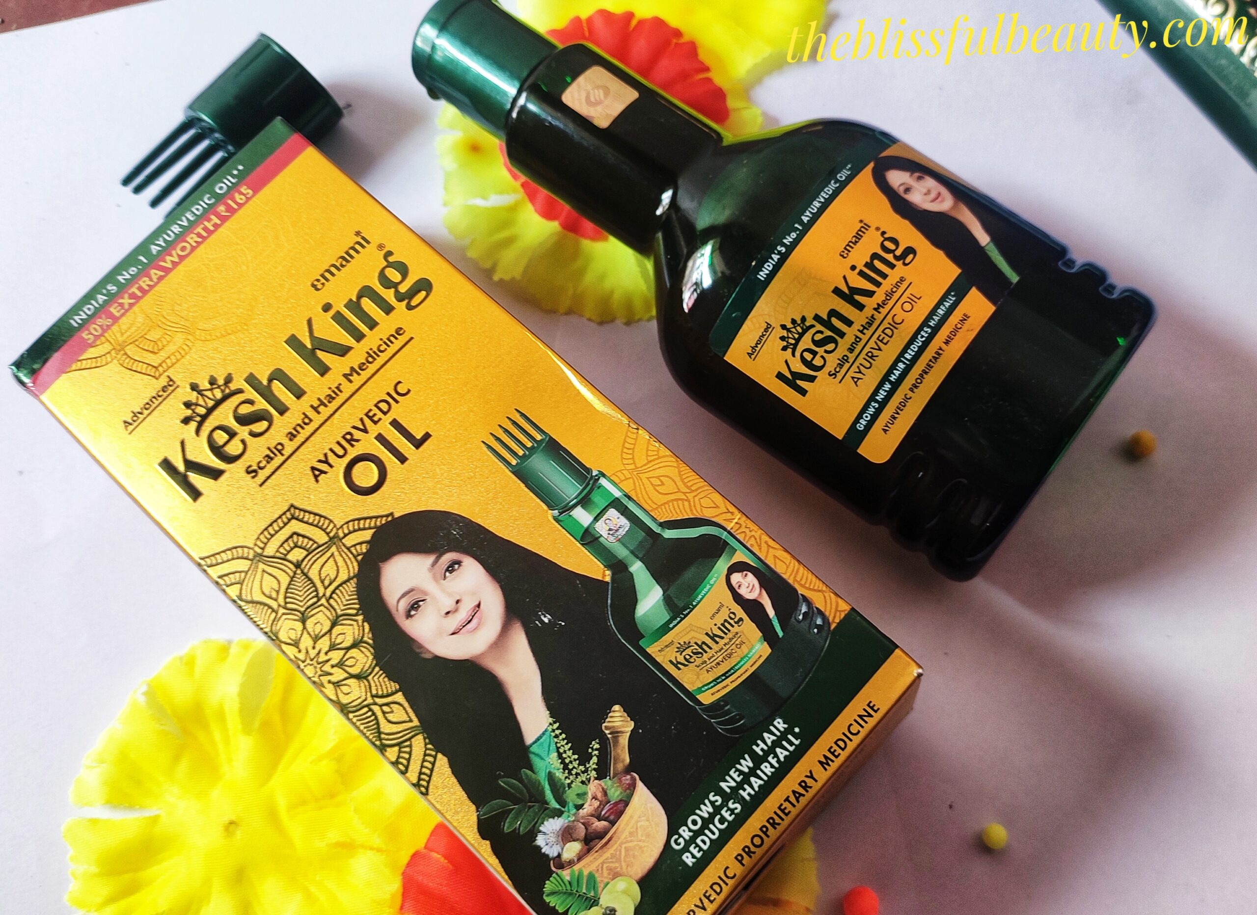 Kesh king Products Review:Hair oil Shampoo Conditioner