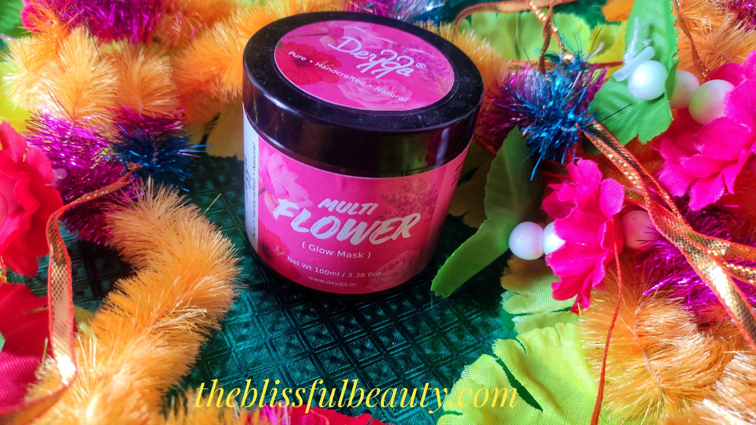 Deyga Multiflower Glow mask Review